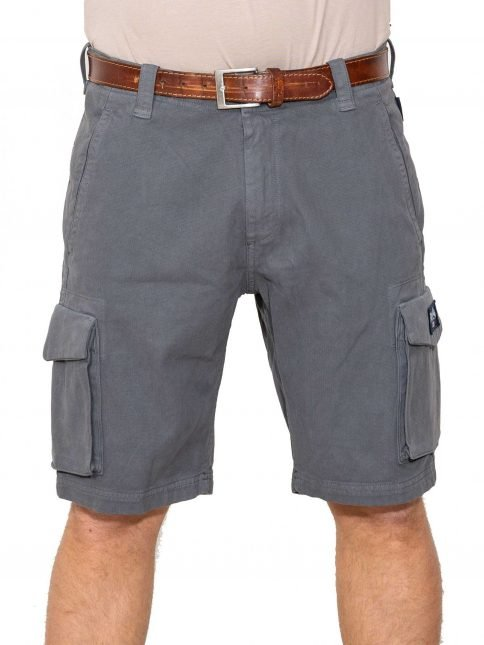 grey combat shorts three stroke productions