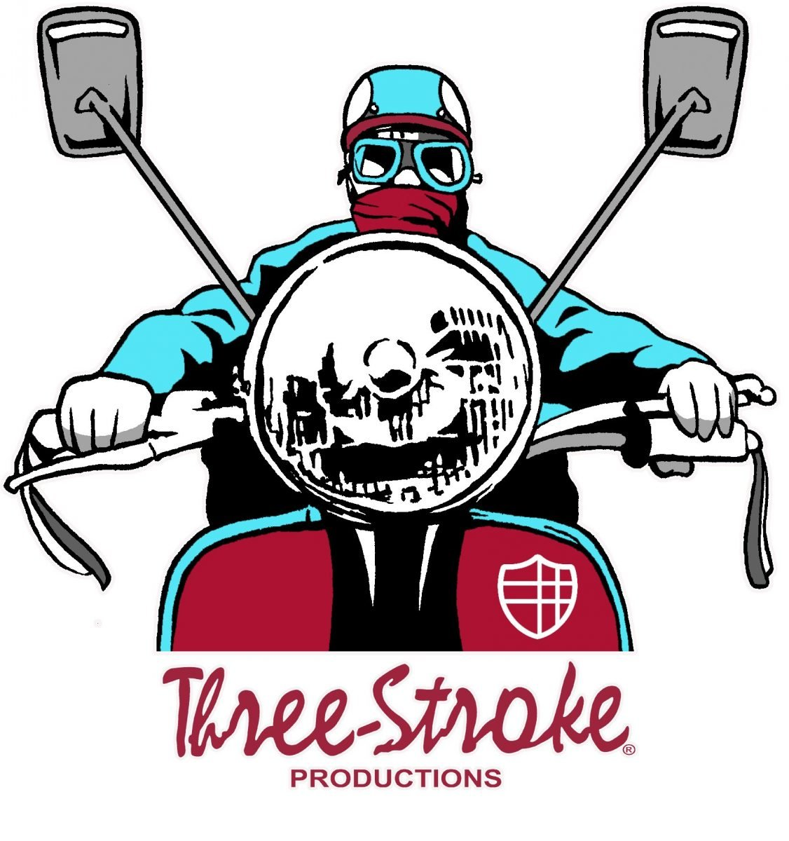 scooterboy t shirt three stroke productions
