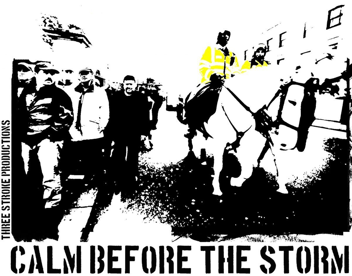 calm before the storm t shirt