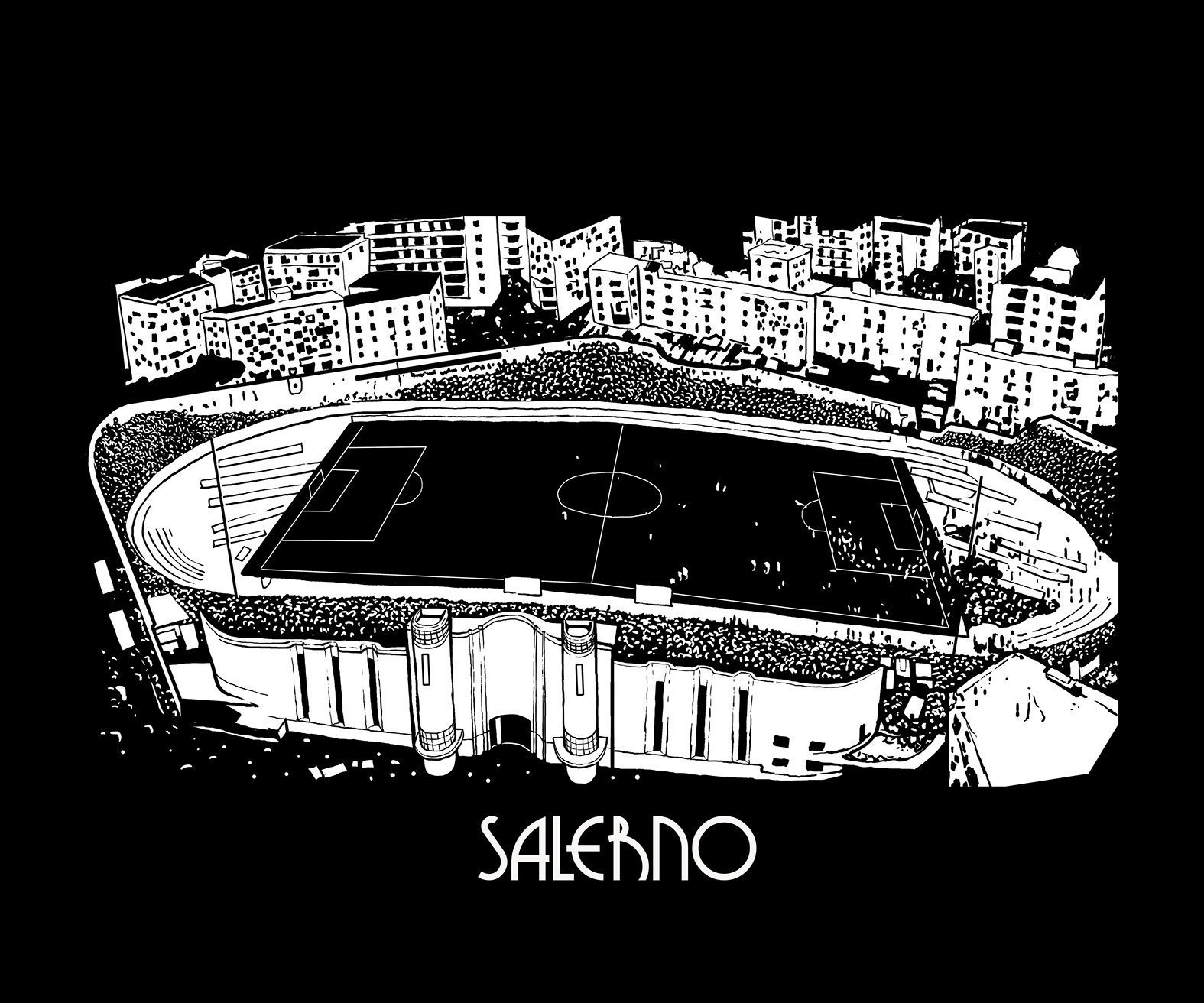 old town stadium project t shirt salerno tackle