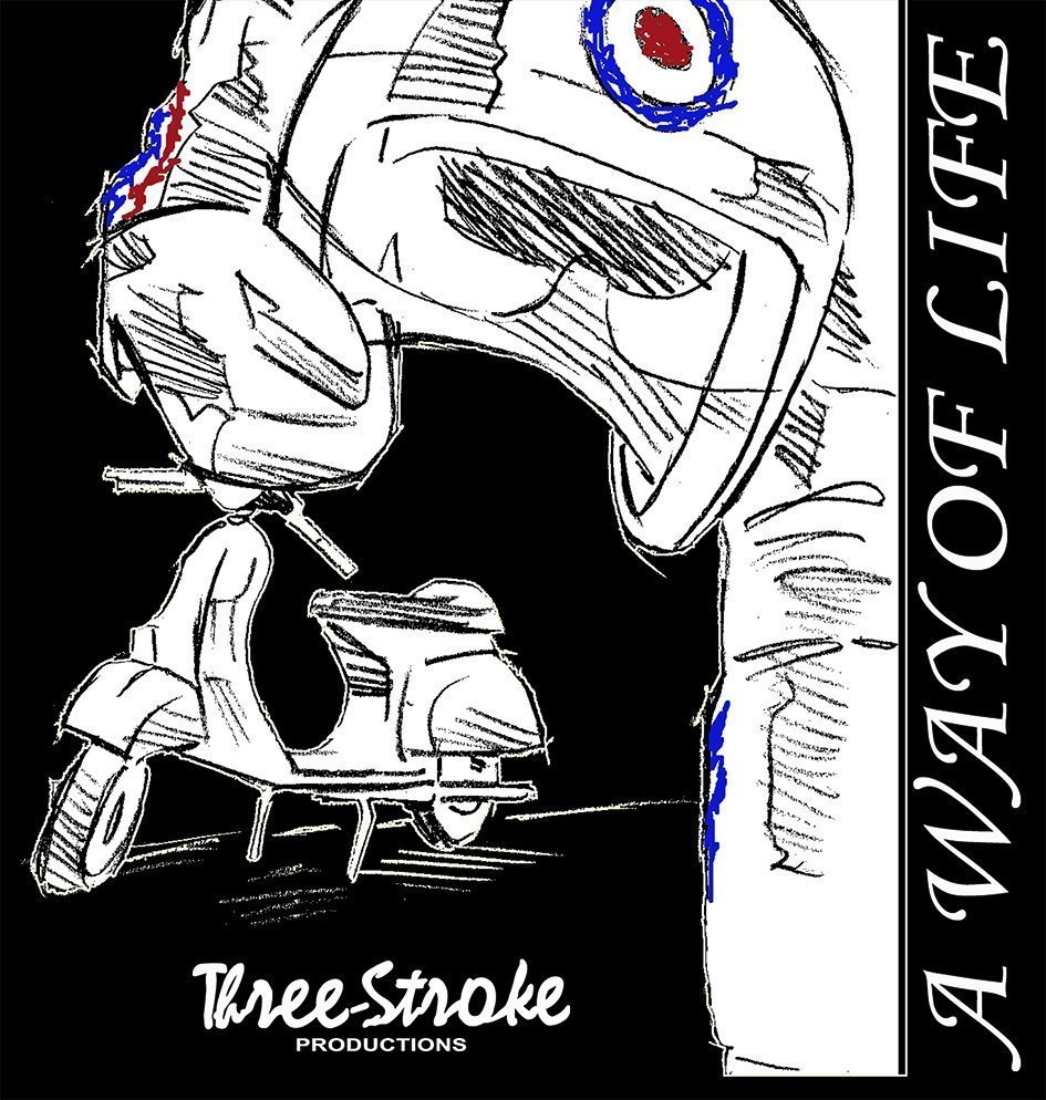 a way of life t shirt by three stroke productions