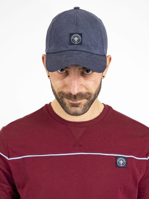 navy victor hat three stroke productions