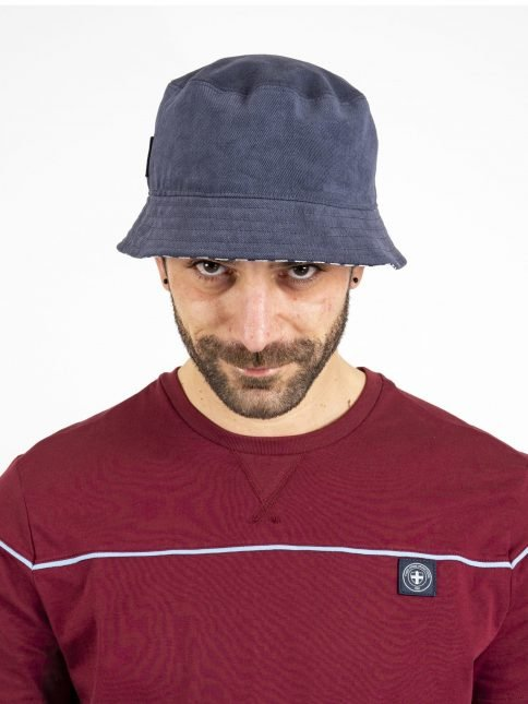 navy renis hat by three-stroke production