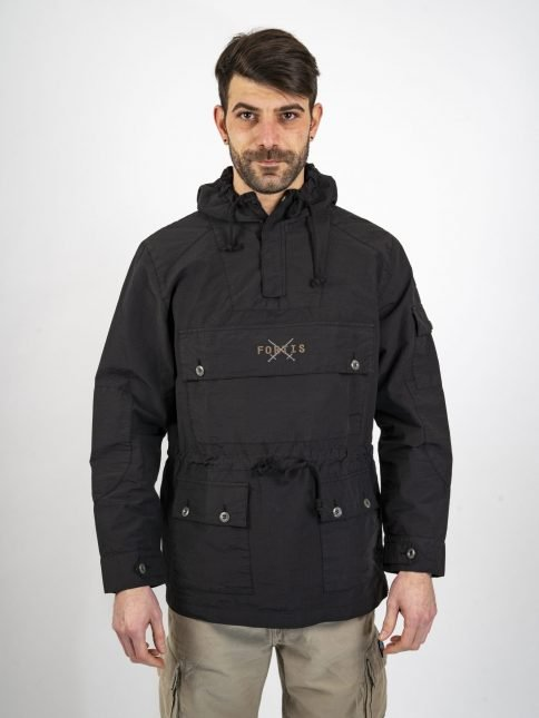 black anorak three stroke productionsjackets three stroke productions
