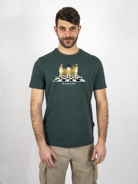 forest game of chess t shirt three stroke productions