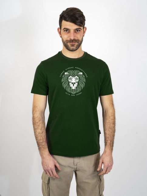 forest acta t shirt by three-stroke production