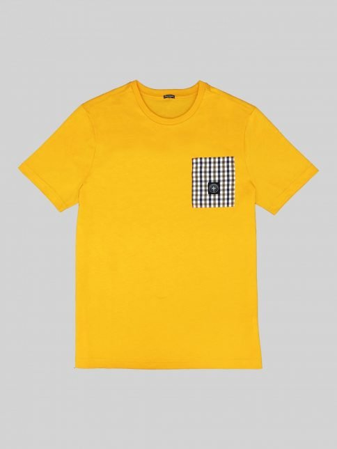 gold emery t shirt by three-stroke production