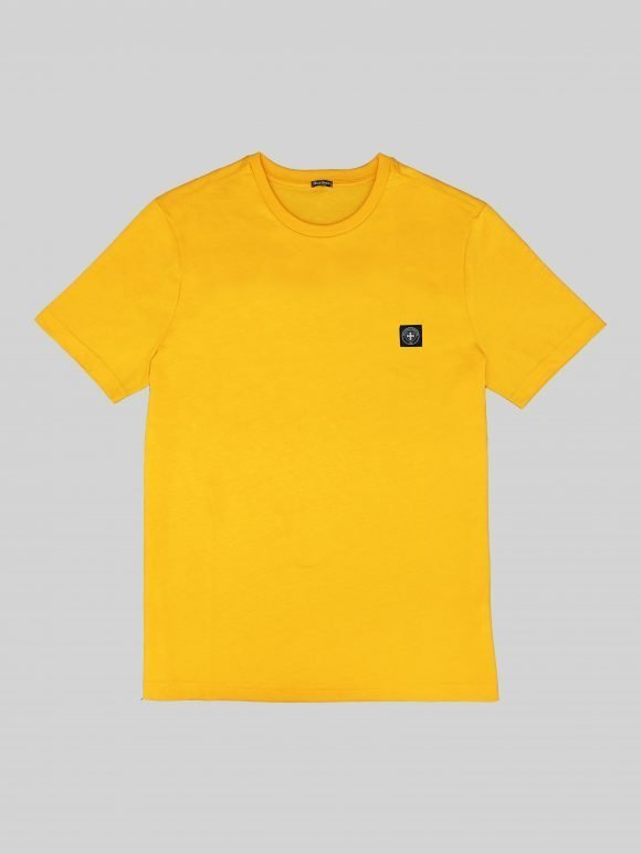 gold minimum t shirt by three-stroke production