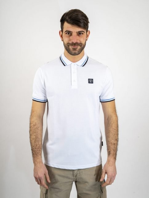 white the classic polo shirt three stroke productions