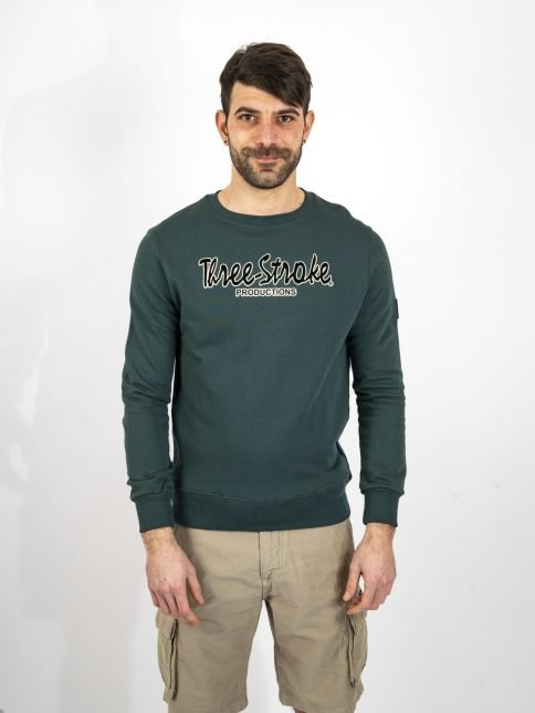 forest the classic swatshirt by trhree-stroke production