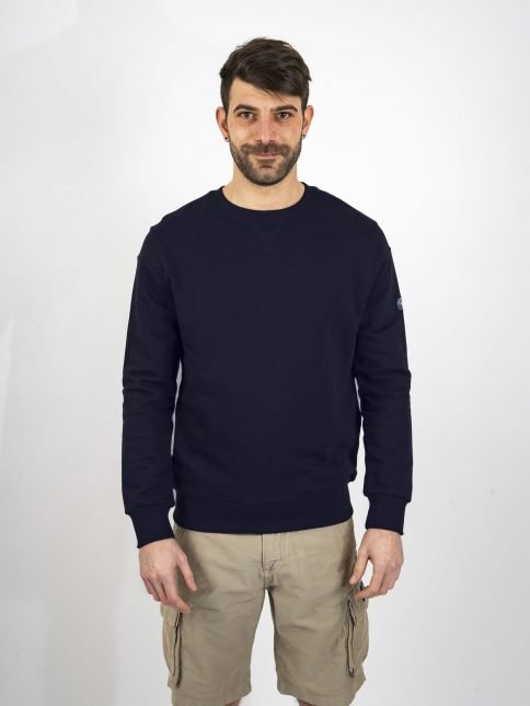 navy venator sweatshirt three stroke productions