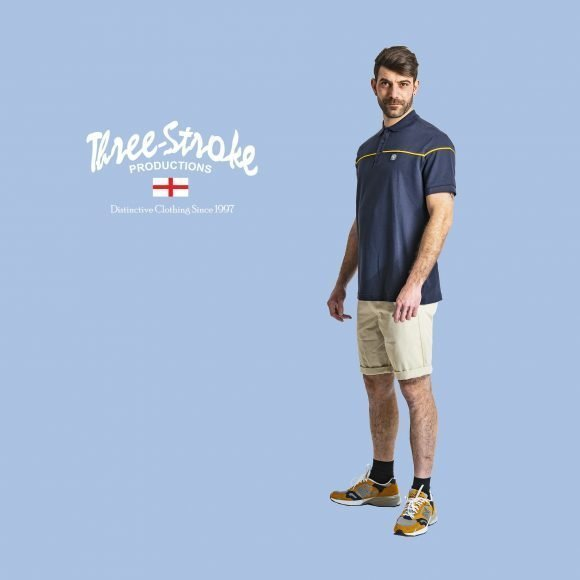spider t shirt and harris chinos shorts by Three Stroke Productions