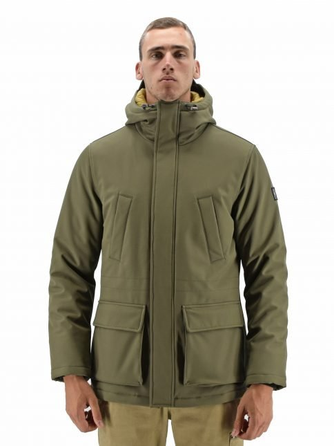 Olive Fortis Parka by Three Stroke Productions