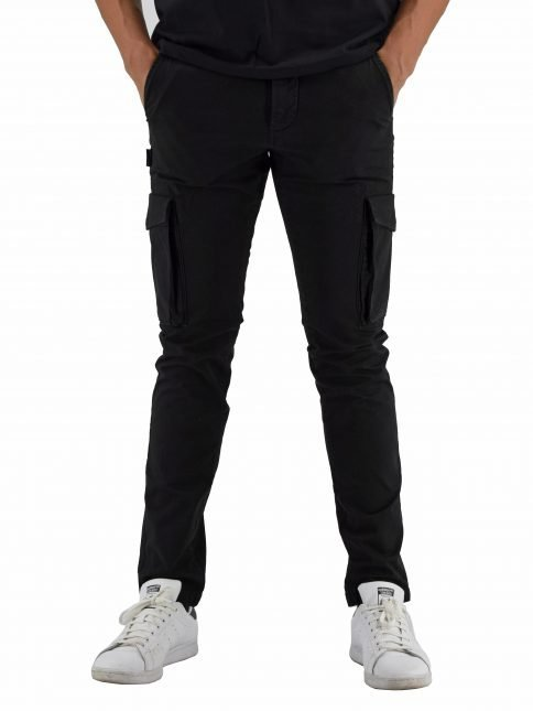 Black Muti trousers by Three Stroke Productions