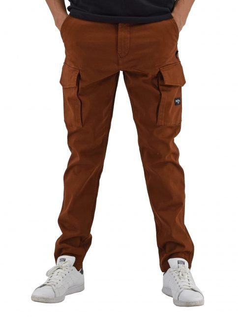 Tobacco Muti trousers by Three Stroke Productions